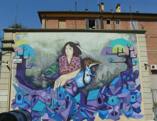 Street art in Bolognina